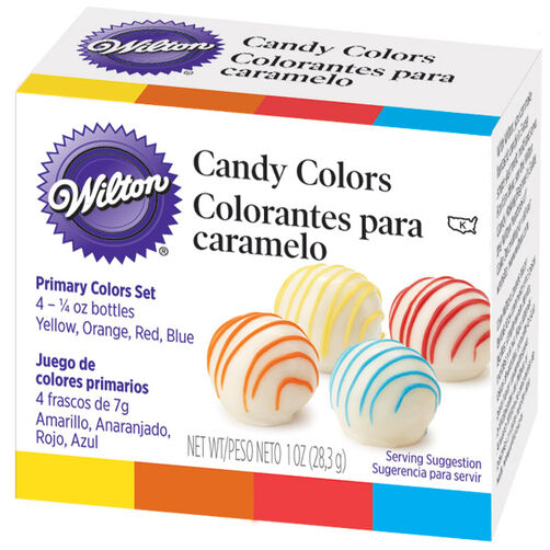Primary Candy Colors Set - Wilton Candy Colors   Wilton