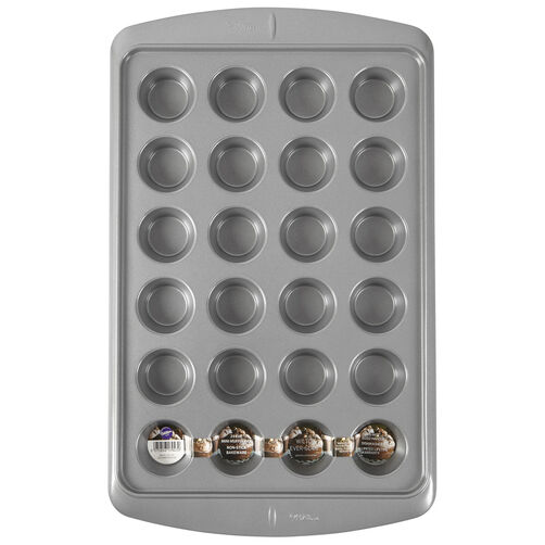 Ever-Glide Non-Stick Mini Muffin Pan, 24-Cup