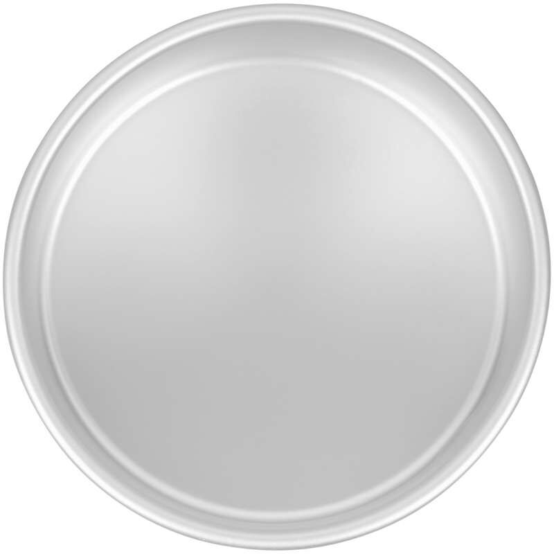 Decorator Preferred 6 x 3-inch Round Aluminum Cake Pan image number 0