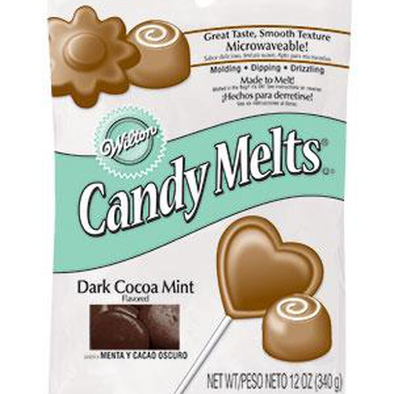 Mint Cocoa Candy Melts Candy image number 0