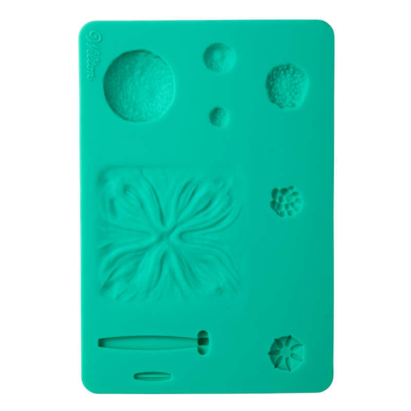 Silicone Flower Impression Mold image number 0