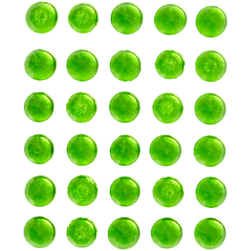 Green Sweet Isomalt Gems, 0.3 oz. image number 0