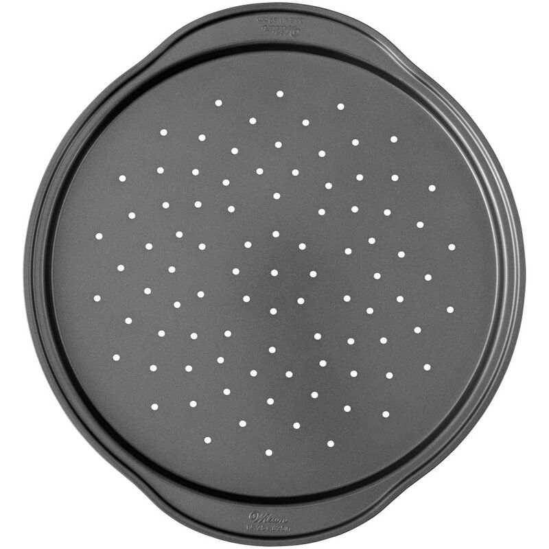Perfect Results Non-Stick Pizza Crisper Pan, 14-Inch Pizza Pan image number 0