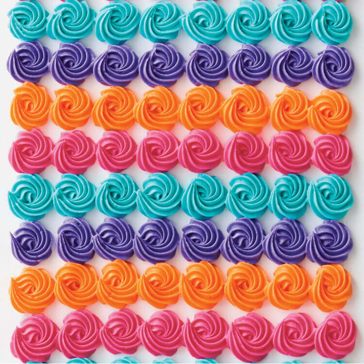 Neon Food Coloring Gel Icing Color Set, 4-Count