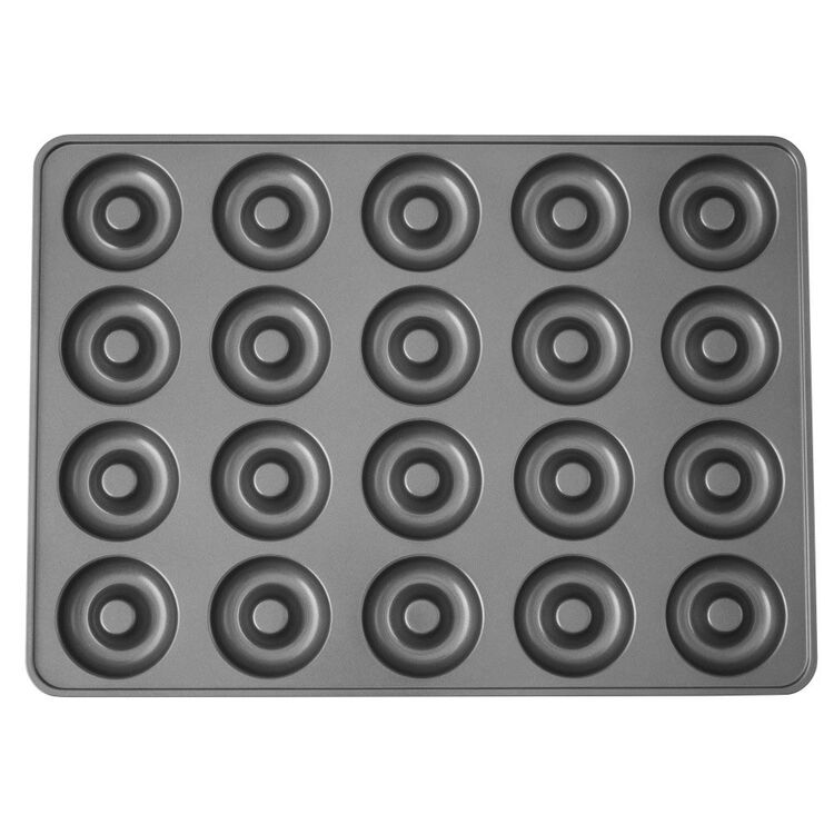Perfect Results Non-Stick Donut Pan, 20-Cavity Donut Baking Pan