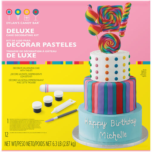 Dylan39s Candy Bar Deluxe Cake Kit