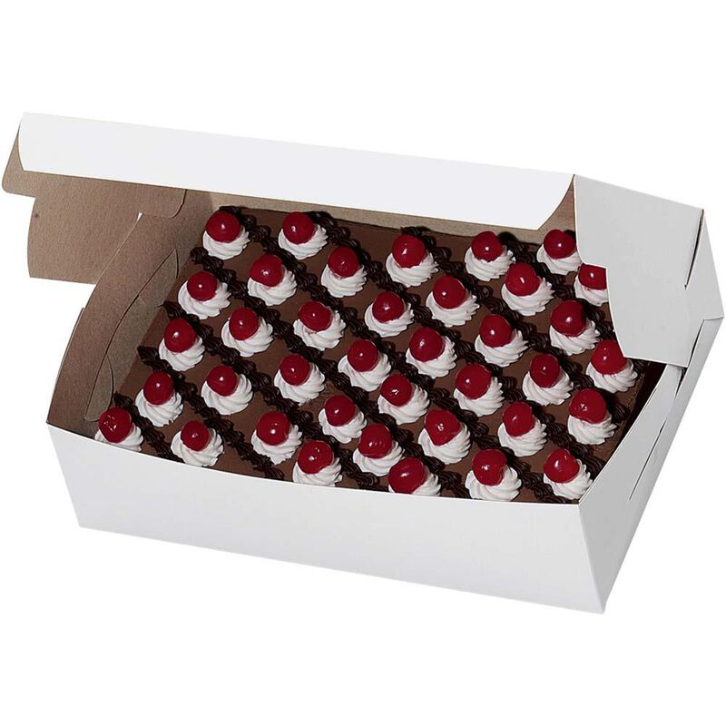 10x14 Plain Cake Box image number 1