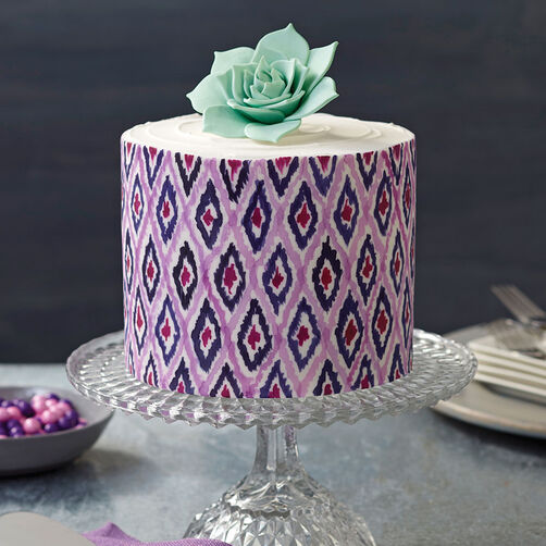 Small and Tall Aluminum Cake Pans, 2 Piece   Layer Cake ...