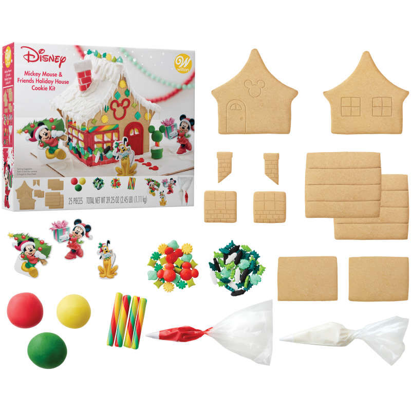Disney Mickey Mouse and Friends Holiday House Cookie Kit image number 1
