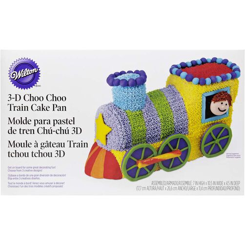 Choo Train Cake Pan Set