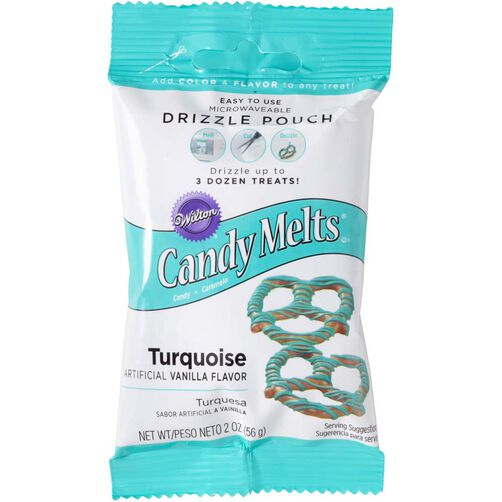Wilton Turquoise Candy Drizzles Pouches