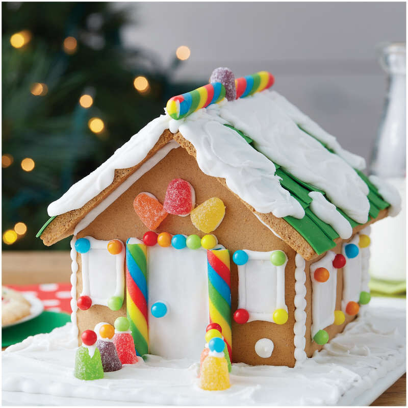 Build it Yourself Sweet & Petite Gingerbread House Decorating Kit image number 3