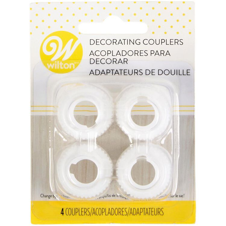 Decorating Coupler Set, 4-Count