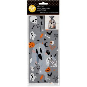 Ghost Treat Bags, 20-Count