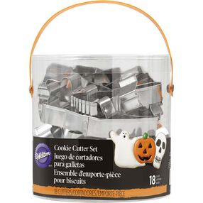 Halloween Metal Cookie Cutter Set
