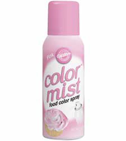 Color Mist Pink Food Coloring Spray
