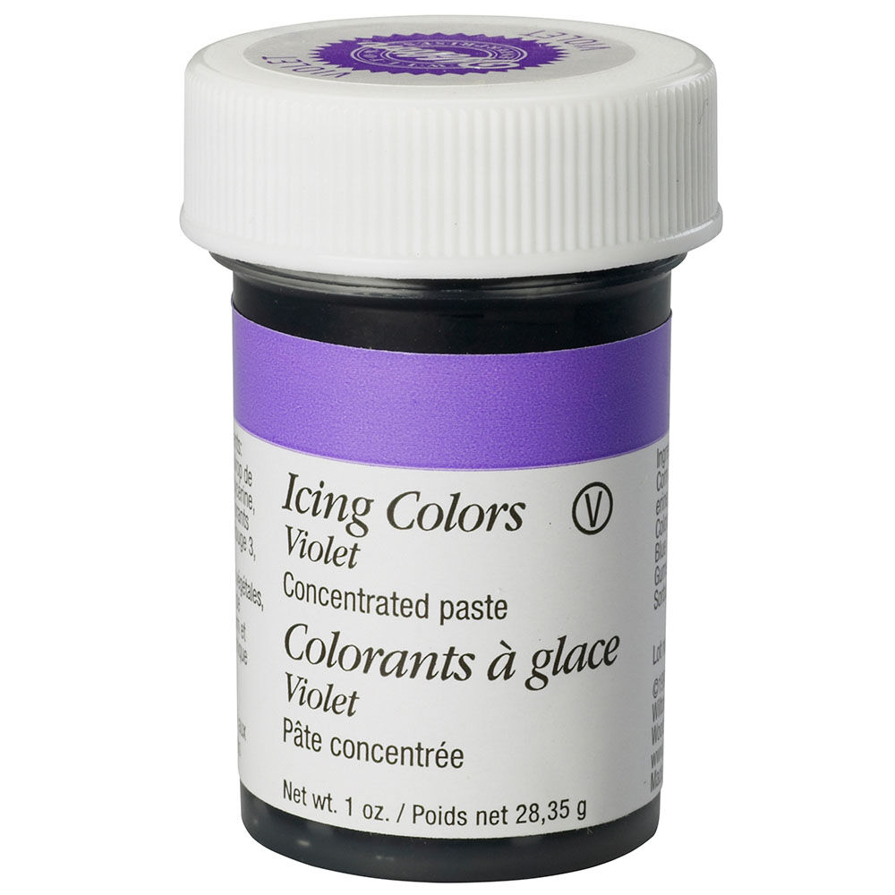 Violet Icing Color, 1 oz. Gel Food Coloring | Wilton