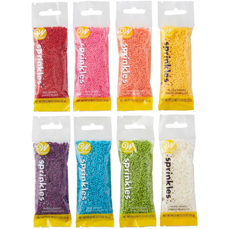 Assorted Jimmies Decorating Set, 8-Piece image number 0