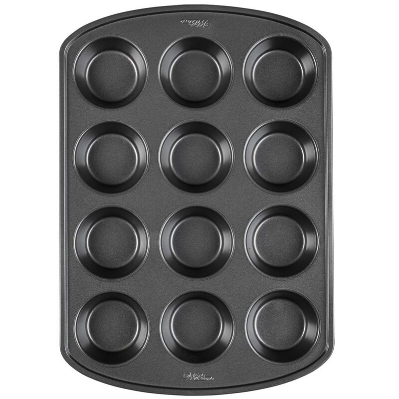 Perfect Results Premium Non-Stick Bakeware Muffin and Cupcake Pan, 12-Cup image number 0