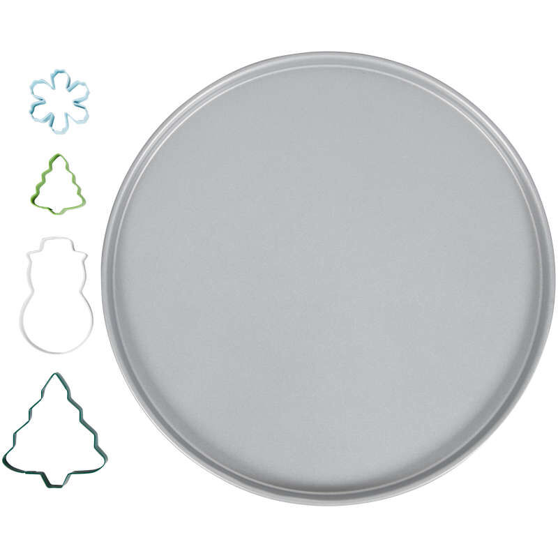 Snowglobe Giant Cookie Decorating Kit, 5-Piece image number 0