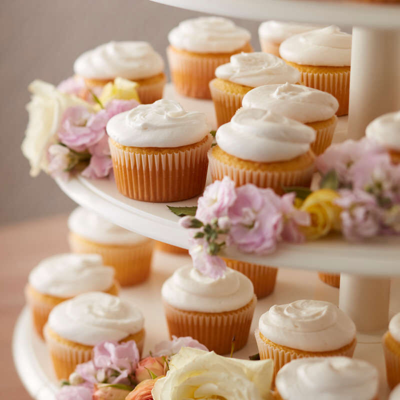 Simple White Cupcakes image number 8