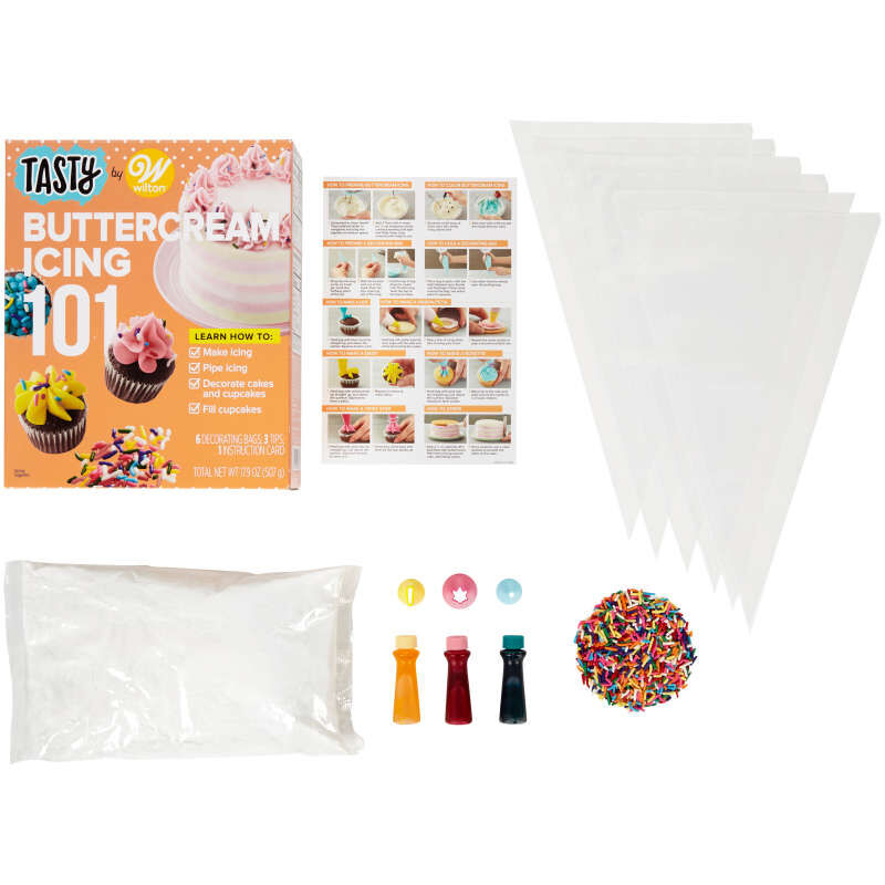 Tasty by Buttercream Icing 101 Kit image number 0