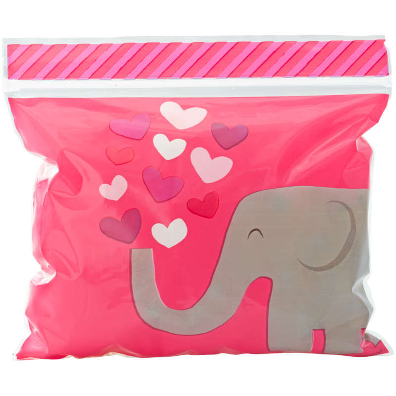 Resealable Tons of Love Valentine's Day Treat Bags, 20-Count image number 2
