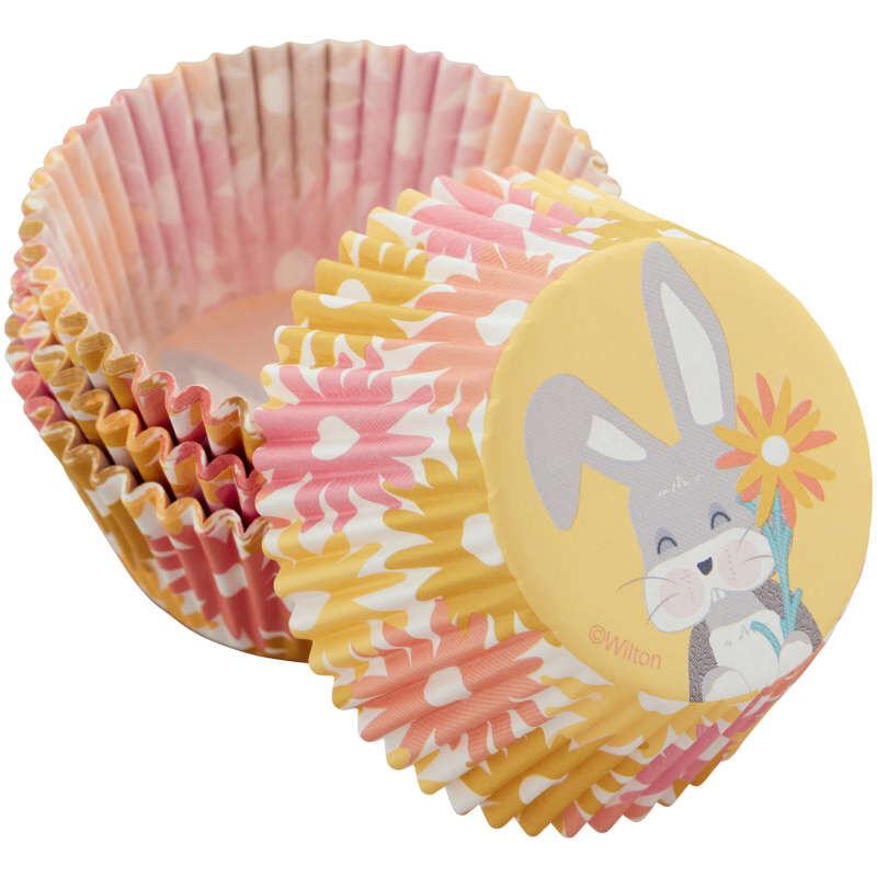 Spring Daisies Baking Cups, 75-Count image number 2
