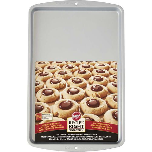 Recipe Right 17x11 Jelly Roll Cake Pan, in packaging