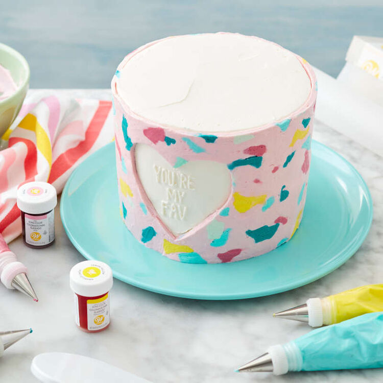 Cake Decorating Tip Set for Writing, 4-Piece (Tips 3, 55, 13, 44)