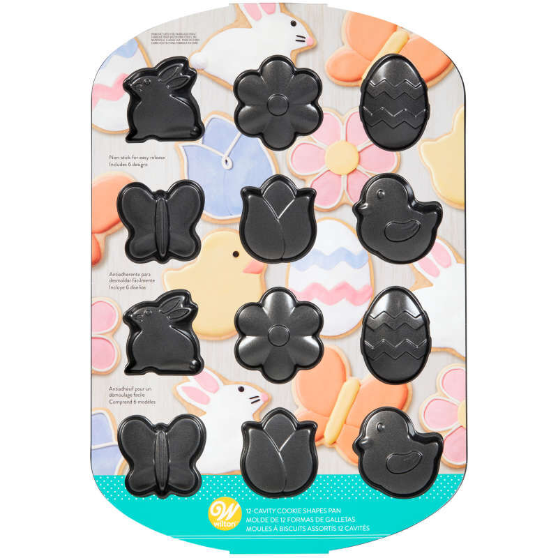 Spring Cookie Shapes Pan, 12-Cavity image number 3