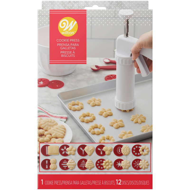 Cookie Press Set, 13-Piece image number 1