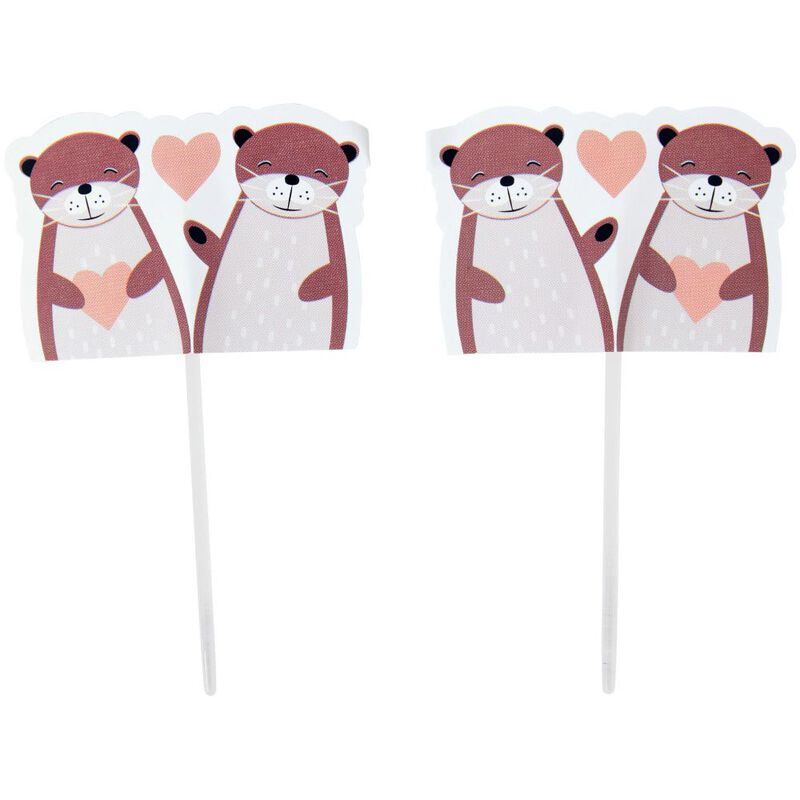 Valentine's Day Otterly in Love Cupcake Decorating Kit image number 2