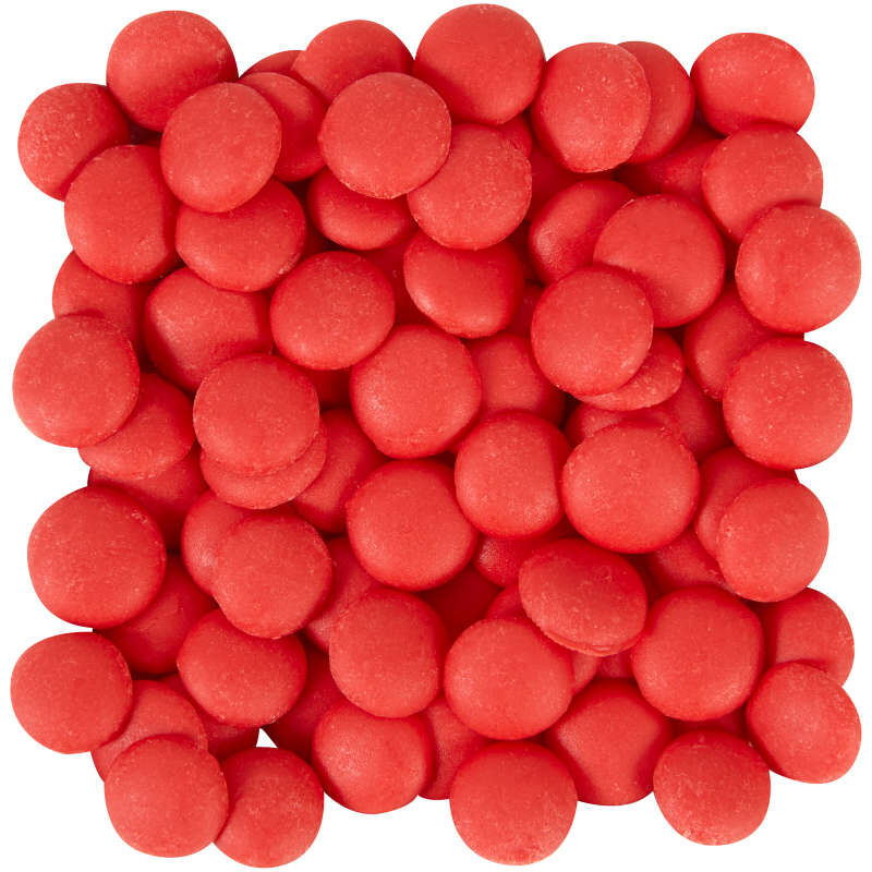 Red Candy Melts Drizzle Pouch 2 oz image number 1