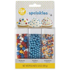 Primary Colors Sprinkles Set