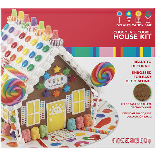 Dylans Candy Bar Gingerbread House Decorating Kit