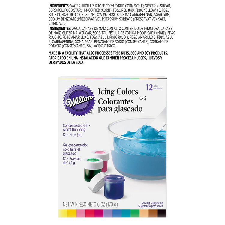 Icing Colors, 12-Count