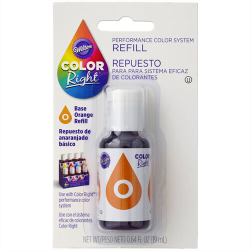 Wilton Color Right Orange Base Color Refill