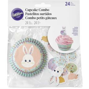 Easter Bunny Cupcake Decorating Kit