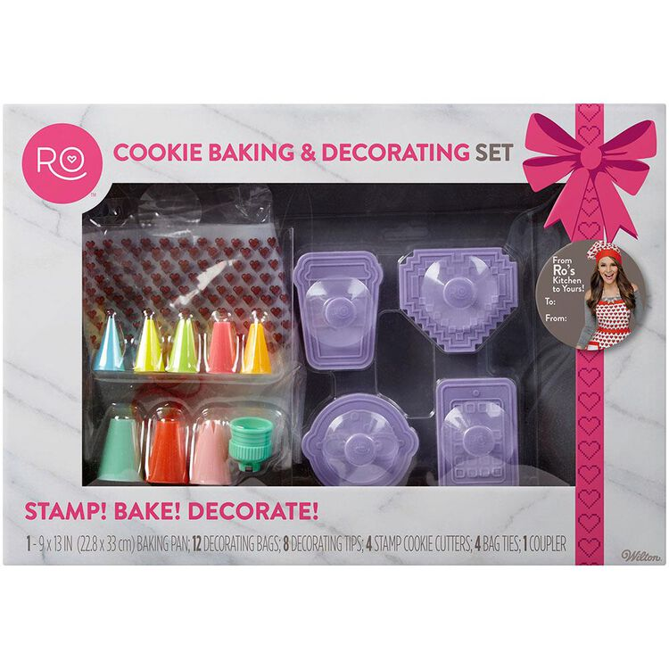Cookie Baking and Decorating Set