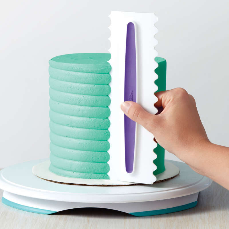 Icing Smoother Comb Set - 3 Piece image number 2