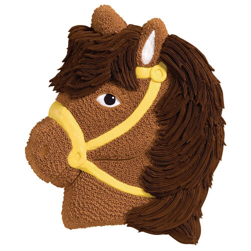 Horse Cake Pan Kids 3d Birthday Cake Pan Wilton
