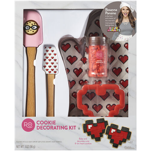 Rosanna Pansino Cookie Decorating Kit