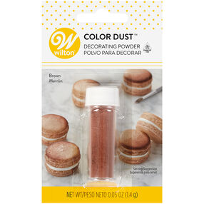 Brown Color Dust, 0.05 oz.