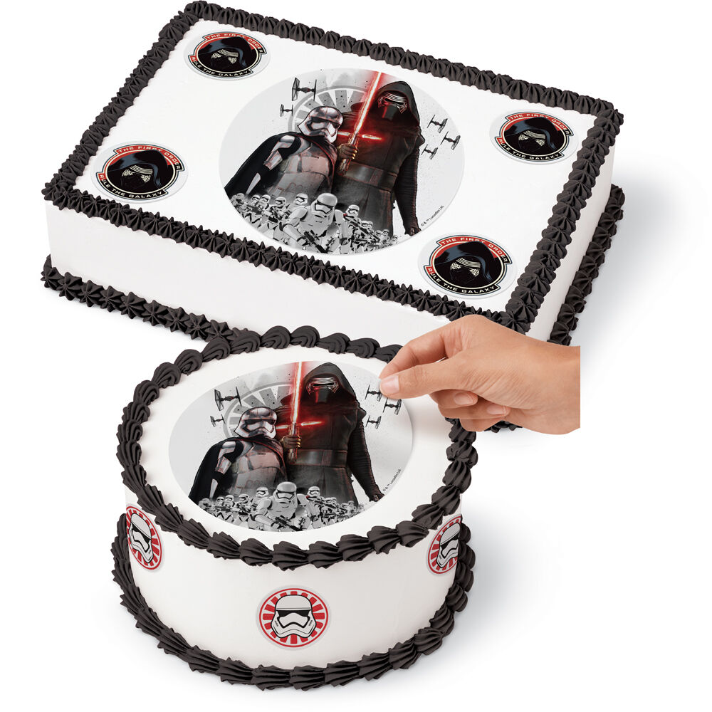 Star Wars Edible Images Cake Decorating Kit Wilton