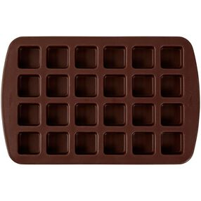 Bite-Size Brownie Squares Silicone Mold