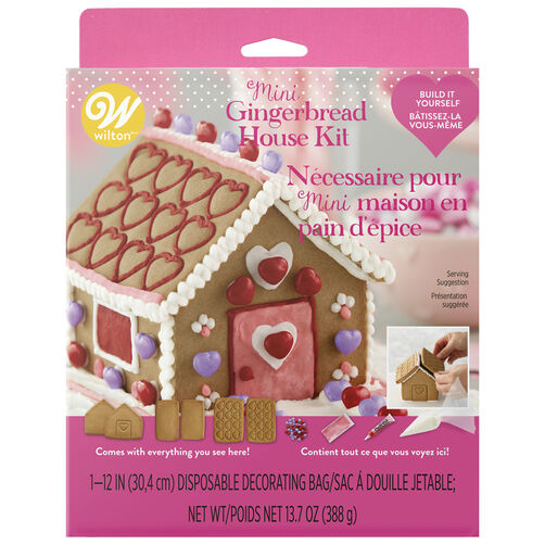 Valentine's Day Gingerbread House Kit