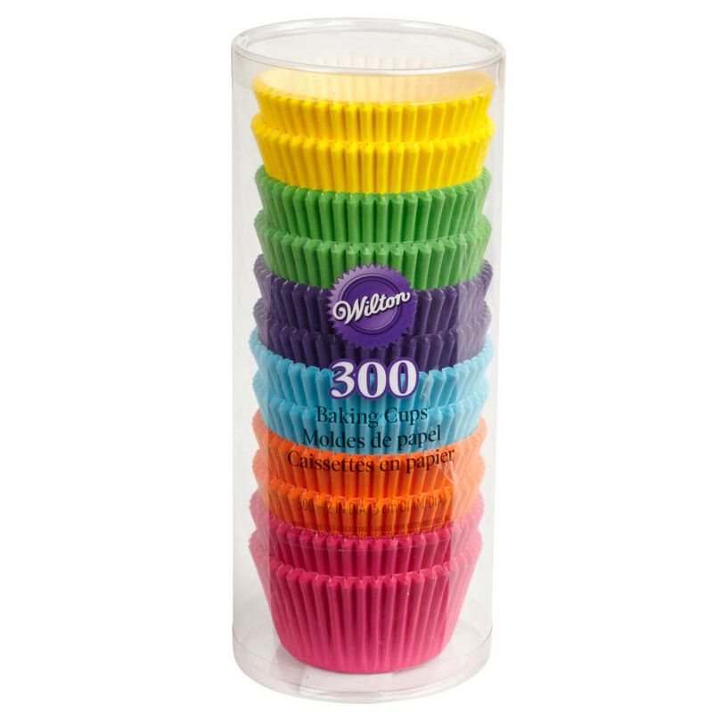 Bright Standard Cupcake Liners, 300-Count image number 1