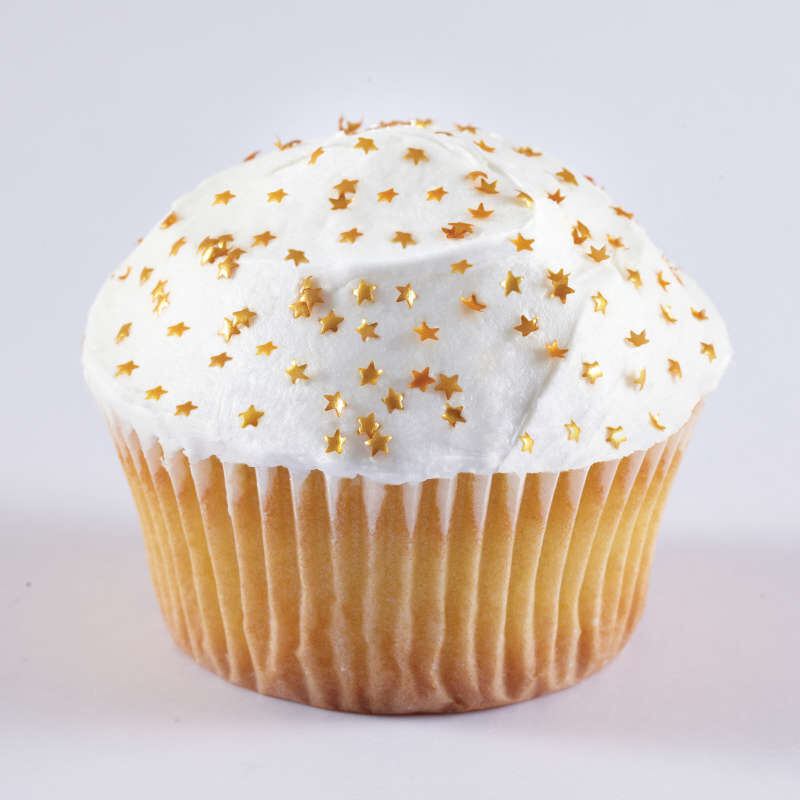 Edible Glitter Gold Stars, 0.4 oz. image number 8