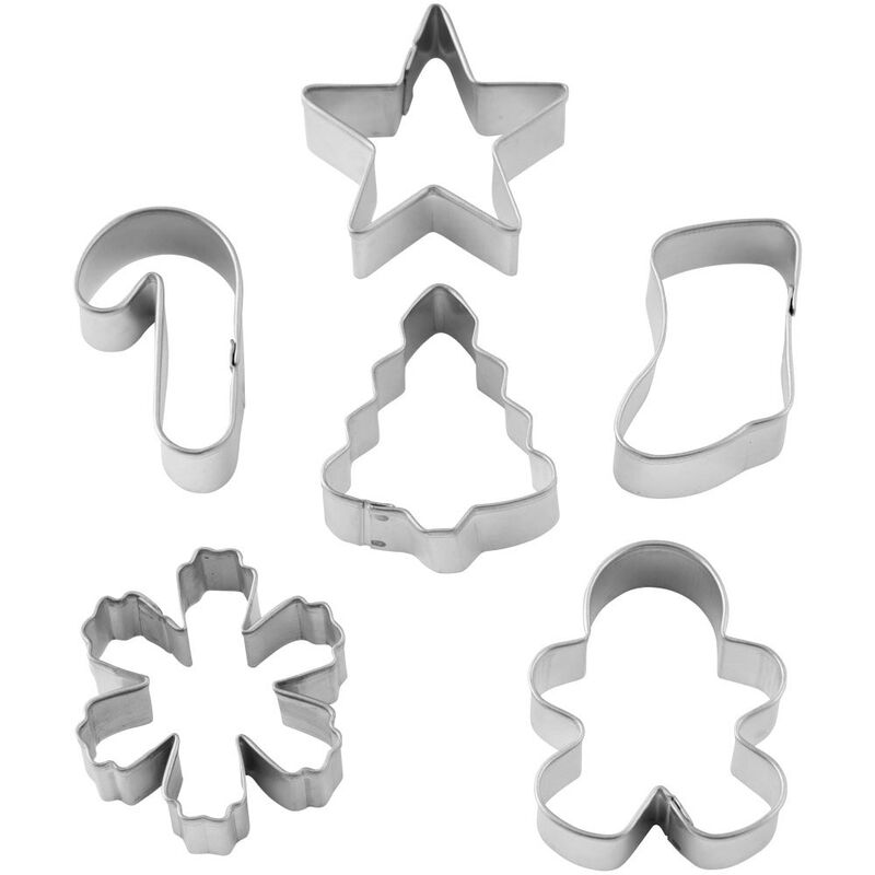 Mini Holiday Cookie Cutter Set, 6-Piece image number 2